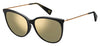 MJ Marc 257/F/S Cat Eye/Butterfly Sunglasses 0807-Black