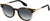 Adensco MARC 294/S Oval Modified Sunglasses 0086-0086  Dark Havana (9O Dark Gray Gradient)