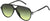Adensco MARC 44/S Aviator Sunglasses 0D28-0D28  Shiny Black (IB Gray Green)