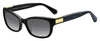 KS Marilee/P/S Rectangular Sunglasses 0807-Black