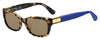 KS Marilee/P/S Rectangular Sunglasses 0IPR-Havana Blue