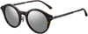 Jimmy Choo NICK/S Oval Modified Sunglasses 04HU-04HU  Havana R Endura Ut (T4 Silver Mirror)