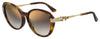 Jimmy Choo Orly/F/S Cat Eye/butterfly Sunglasses 0086-0086  Dark Havana (JL Brown Ss Gold)