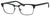 Banana Republic Otis Square Eyeglasses 0807-0807  Black (00 Demo Lens)