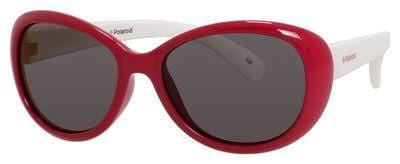 POLAROID Pld 8004/S Oval Modified Sunglasses 0T4L-Red (Back Order 2 weeks)