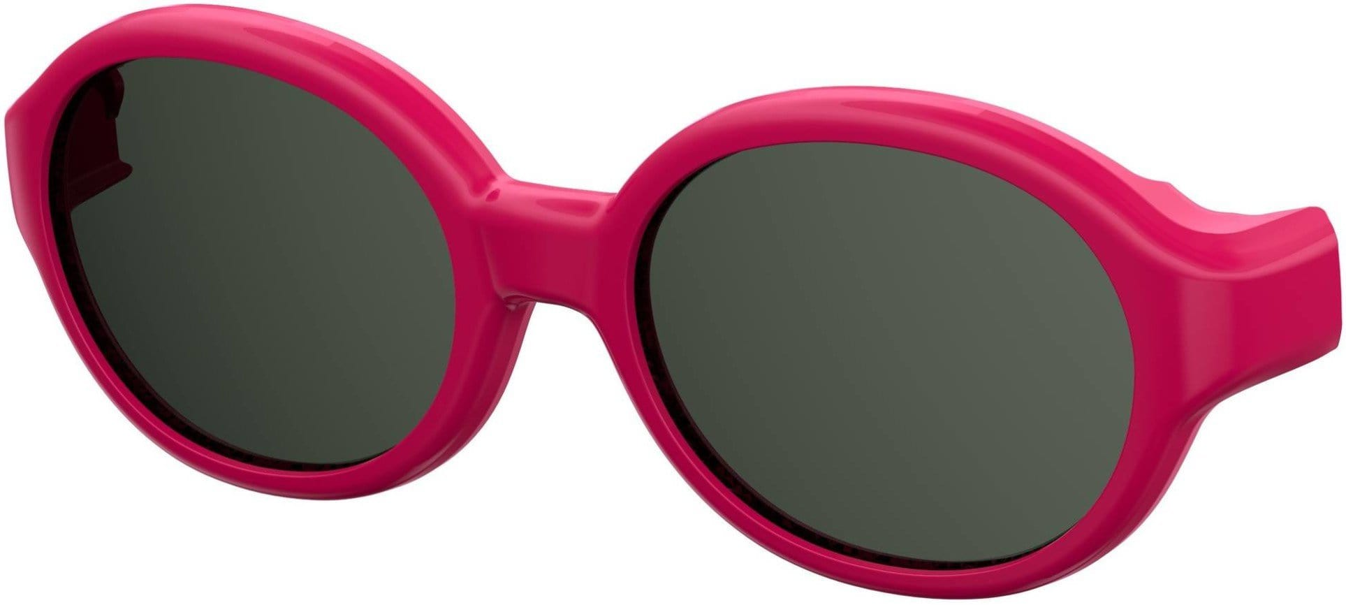 Safilo Safilo Kids SA 0004NCLIP Oval Modified Sunglasses 0MU1-0MU1  Fuchsia (M9 Gray Cp Pz)