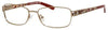 SAKS FIFTH AVE Saks 273 Rectangular Eyeglasses 01M1-Almond (Back Order 2 weeks)