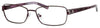 SAKS FIFTH AVE Saks 273 Rectangular Eyeglasses 0EC2-Eggplant