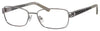 SAKS FIFTH AVE Saks 273 Rectangular Eyeglasses 0JVL-Ruthenium