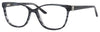 SAKS FIFTH AVE Saks 295 Cat Eye/Butterfly Eyeglasses 0DC1-Black