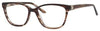 SAKS FIFTH AVE Saks 295 Cat Eye/Butterfly Eyeglasses 0DZ8-Brown