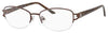 SAKS FIFTH AVE Saks 296 Rectangular Eyeglasses 068B-Brown