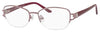 SAKS FIFTH AVE Saks 296 Rectangular Eyeglasses 0NEH-Rose