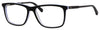 Tommy Hilfiger T. Hilfiger 1317 Rectangular Eyeglasses 00L5-00L5  Black White Crystal (00 Demo Lens)