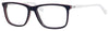 Tommy Hilfiger T. Hilfiger 1317 Rectangular Eyeglasses 0VMC-0VMC  Black Red White (00 Demo Lens)