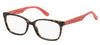 Tommy Hilfiger T. Hilfiger 1492 Rectangular Eyeglasses 09N4-09N4  Havana Brown (00 Demo Lens)