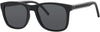 Tommy Hilfiger T. Hilfiger 1493/S Rectangular Sunglasses 0807-0807  Black (IR Gray Blue)