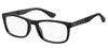 Tommy Hilfiger T. Hilfiger 1522 Rectangular Eyeglasses 0807-0807  Black (00 Demo Lens)