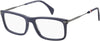 Tommy Hilfiger TH 1538 Rectangular Eyeglasses 0FLL-0FLL  Matte Blue (00 Demo Lens)