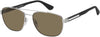 Tommy Hilfiger TH 1544/S Navigator Sunglasses 04ES-04ES  Silver Brown (70 Brown)
