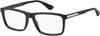 Tommy Hilfiger TH 1549 Rectangular Eyeglasses 0003-0003  Matte Black (00 Demo Lens)