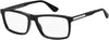 Tommy Hilfiger TH 1549 Rectangular Eyeglasses 0807-0807  Black (00 Demo Lens)