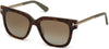 Tom Ford FT0436 Tracy Geometric Sunglasses 56H-56H - Havana/other / Brown Polarized