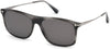 Tom Ford FT0588 Max-02 Geometric Sunglasses 20A-20A - Grey/other / Smoke
