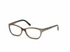 Tom Ford FT5142 Geometric Eyeglasses 050-050 - Shiny Dark Brown