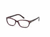 Tom Ford FT5142 Geometric Eyeglasses 083-083 - Violet Horn