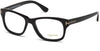 Tom Ford FT5147 Geometric Eyeglasses 001-001 - Shiny Black
