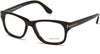 Tom Ford FT5147 Geometric Eyeglasses 052-052 - Dark Havana