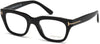 Tom Ford FT5178 Geometric Eyeglasses 001-001 - Shiny Black