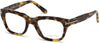 Tom Ford FT5178 Geometric Eyeglasses 055-055 - Coloured Havana