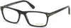 Tom Ford FT5295 Geometric Eyeglasses 002-002 - Gradient Matte-To-Shiny Black