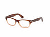 Tom Ford FT5425-F Geometric Eyeglasses 56A-56A - Havana