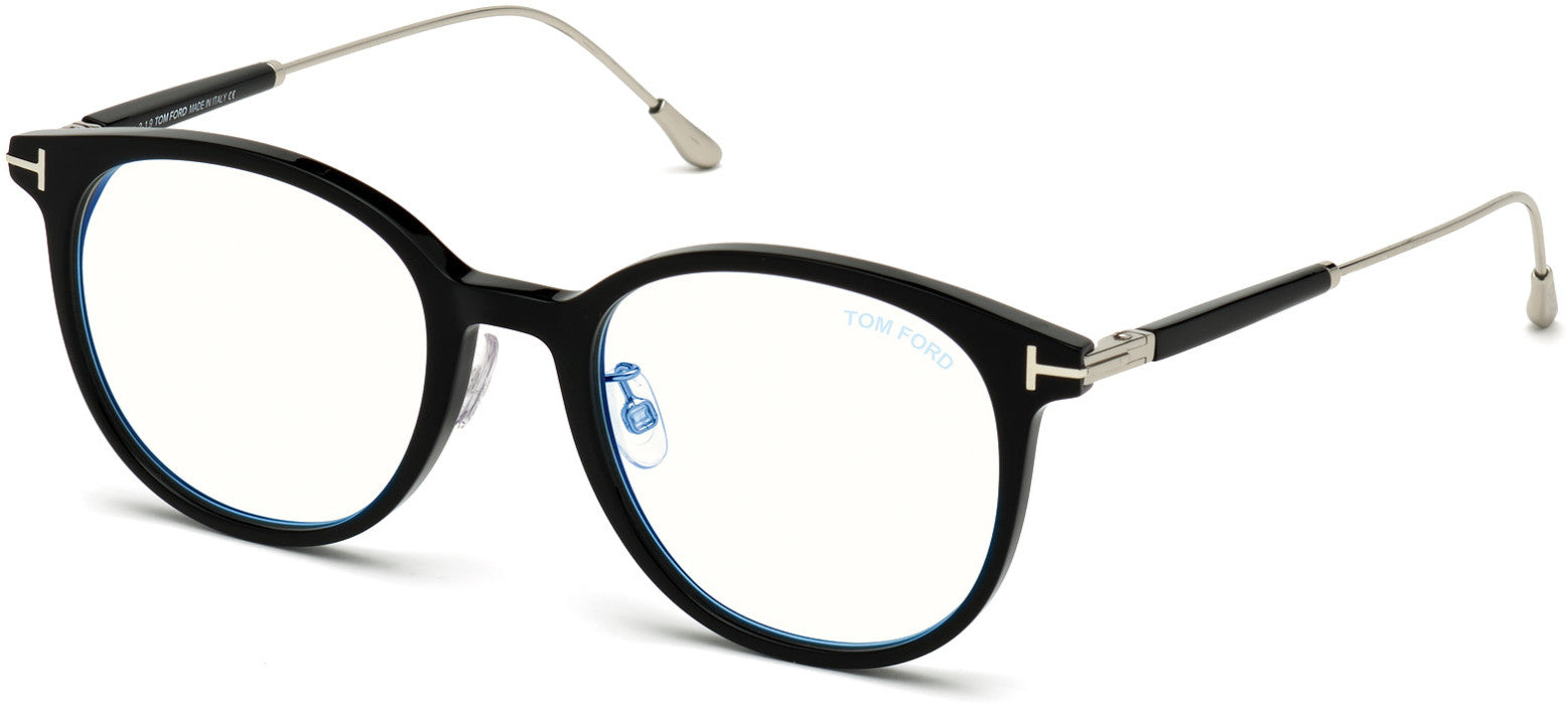Tom Ford FT5644-D-B Round Eyeglasses