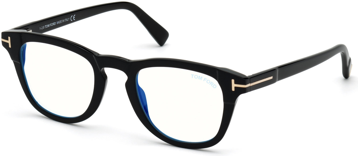 Tom Ford FT5660-B Round Eyeglasses For Men