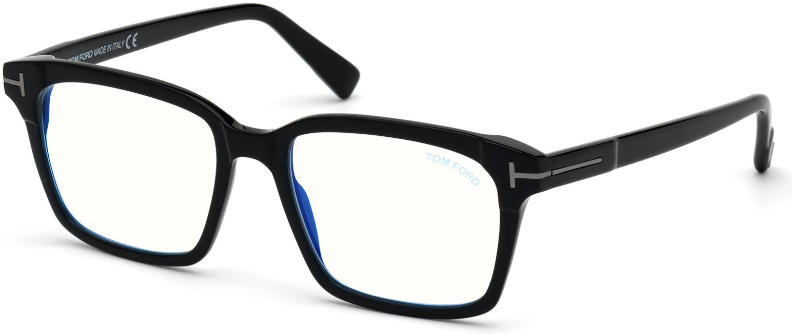 Tom Ford FT5661-B-N Square Eyeglasses For Men