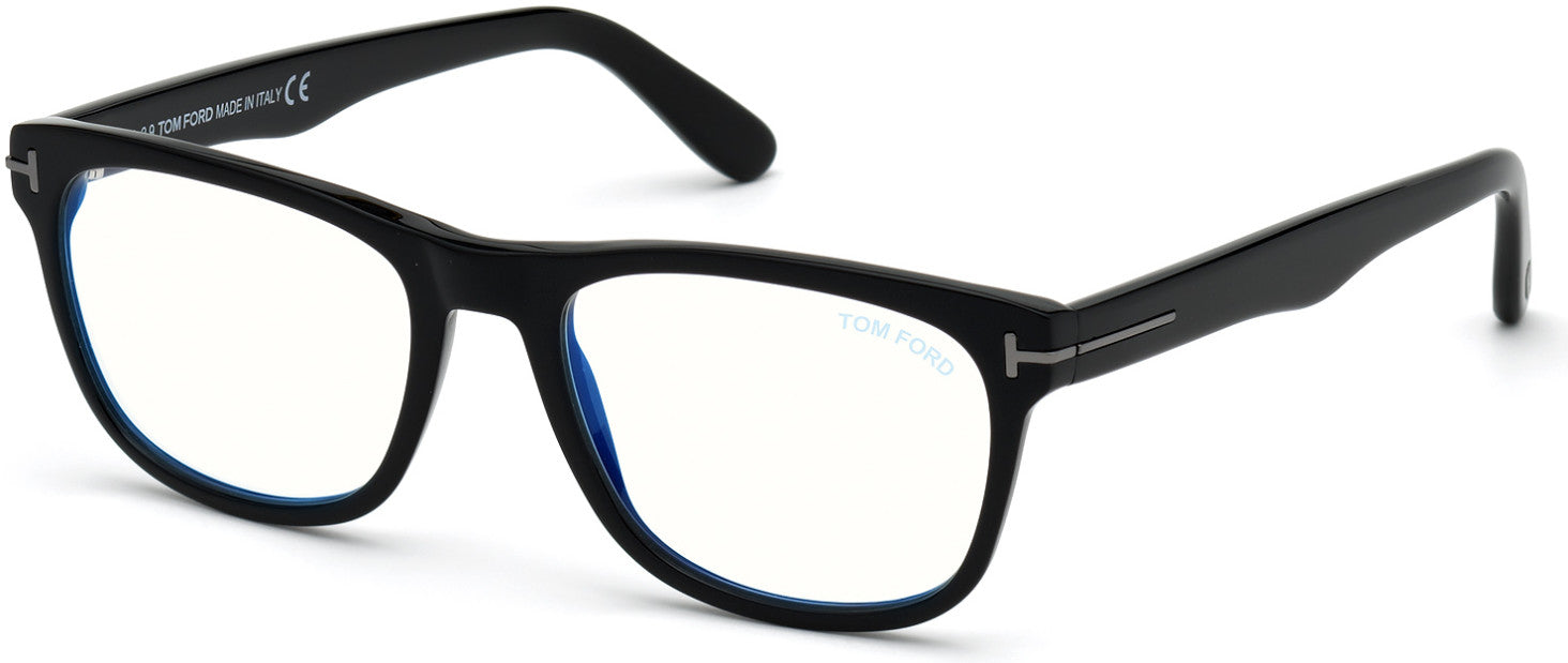 Tom Ford FT5662-B-N Square Eyeglasses For Men