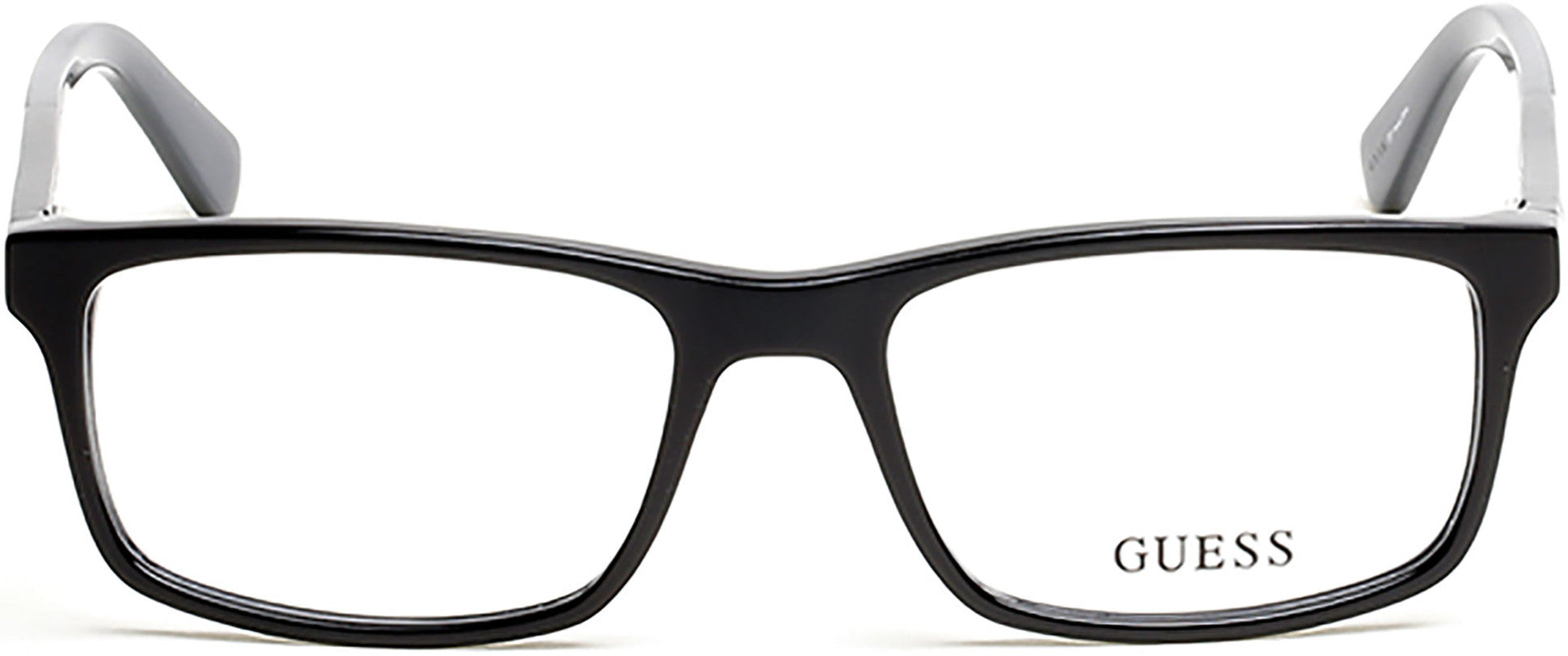 Guess GU1878 Rectangular Eyeglasses 001-001 - Shiny Black