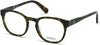 Guess GU1907 Geometric Eyeglasses 098-098 - Dark Green/other