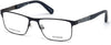 Guess GU1928 Geometric Eyeglasses 091-091 - Matte Blue