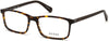 Guess GU1948 Rectangular Eyeglasses 052-052 - Dark Havana