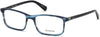 Guess GU1948 Rectangular Eyeglasses 027-091 - Matte Blue