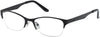 Guess GU2469 Round Eyeglasses B84-B84 - Black