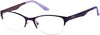 Guess GU2469 Round Eyeglasses O24-O24 - Purple