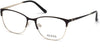 Guess GU2583 Geometric Eyeglasses 002-002 - Matte Black