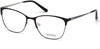 Guess GU2583 Geometric Eyeglasses 005-005 - Black