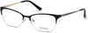 Guess GU2584 Cat Eyeglasses 002-002 - Matte Black